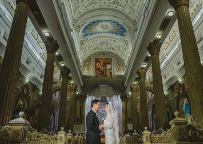 Boda en la Basilica de Maracaibo – Maria de los Angeles & Alfredo